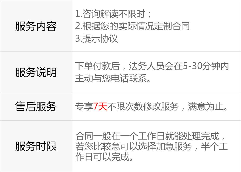 弘疆咨询股份有限公司的服务说明